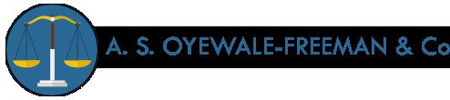 A. S. Oyewale-Freeman & Co.